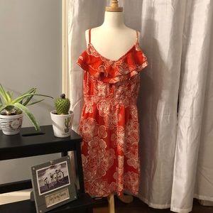 Elle floral print sleeveless dress